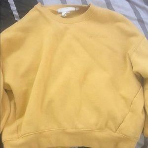 True Happiness yellow sweater